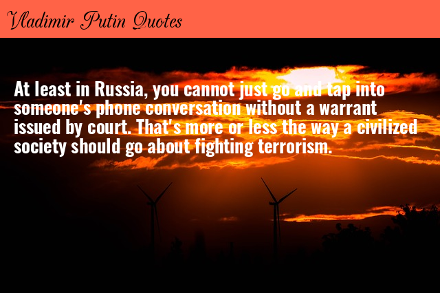 Vladimir Putin Quotes Getatoz