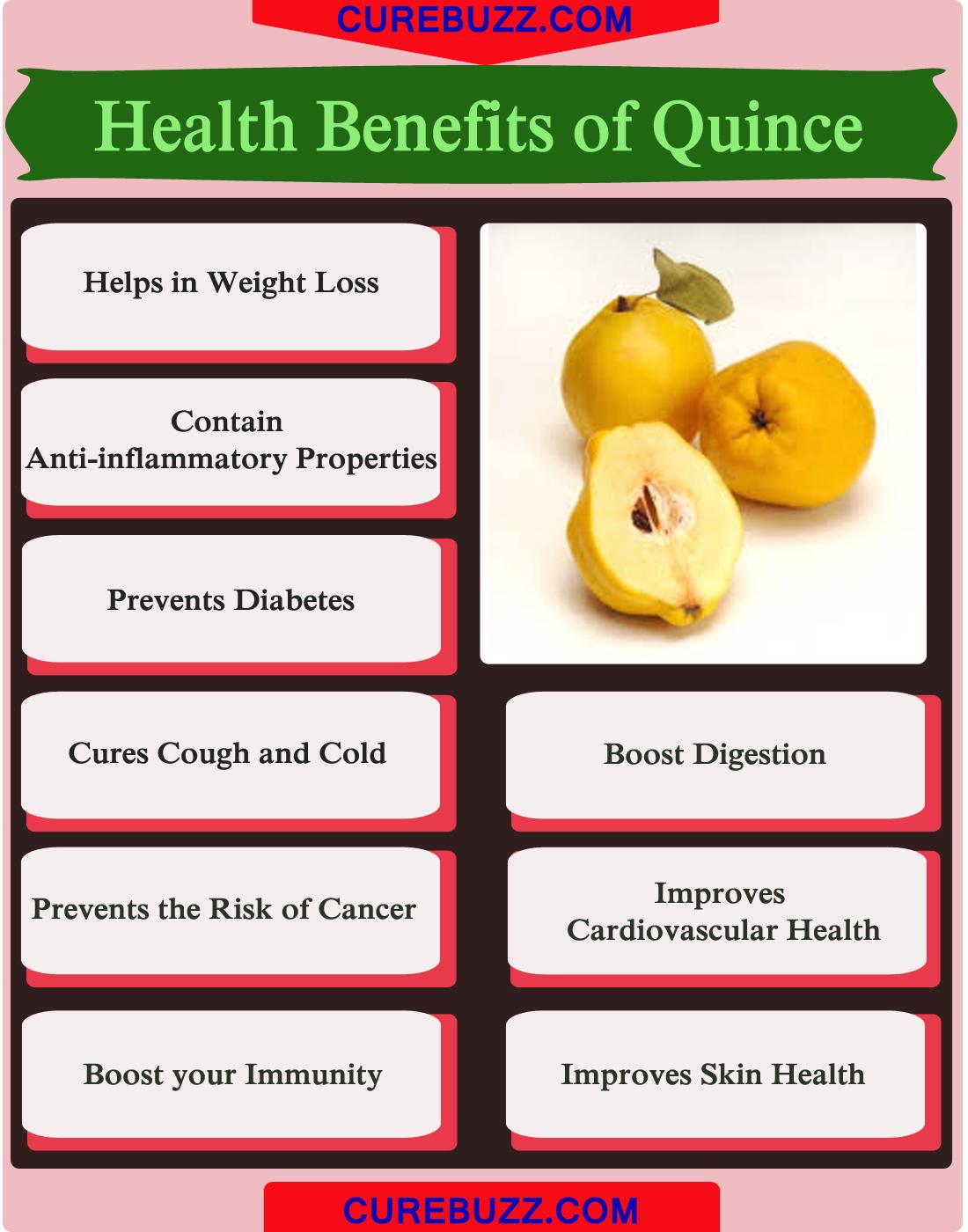9 health benefits of quince : getatoz