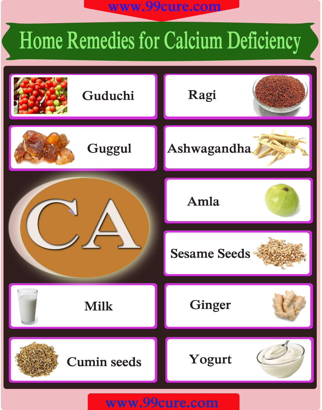 Home Remedies for Calcium Deficiency