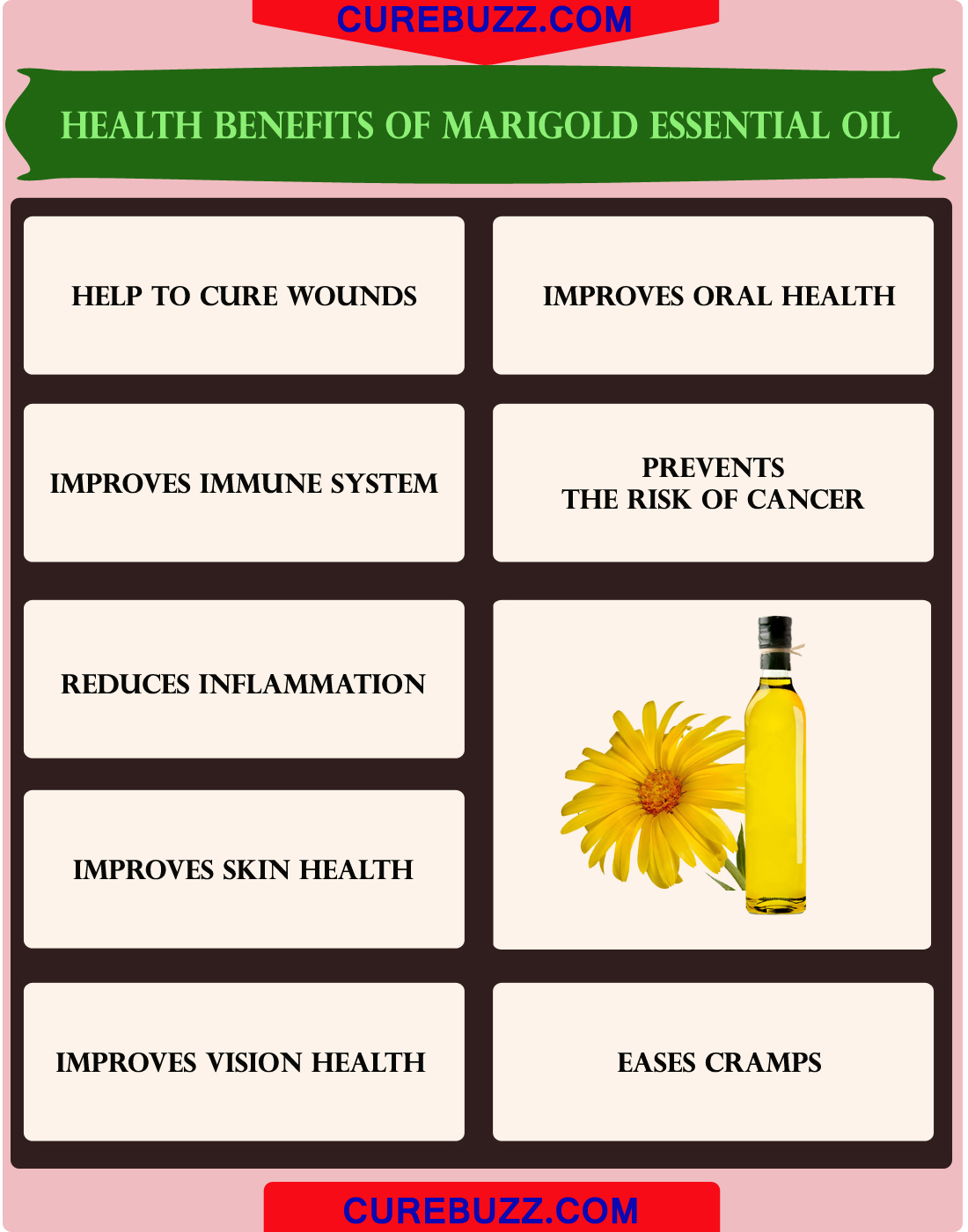 Health Benefits of Marigold Essential Oil