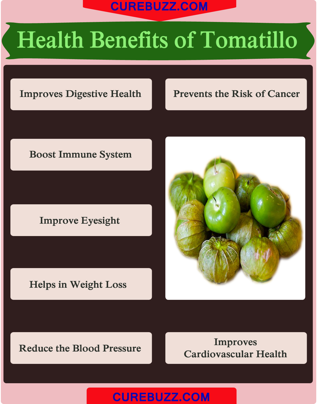 Health Benefits of Tomatillo