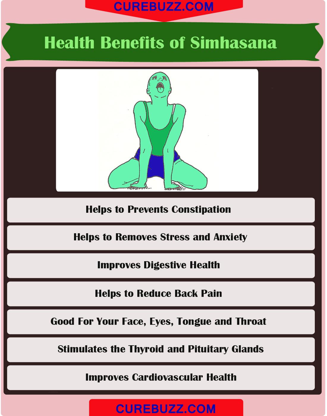 How to do Simhasana (The Lion pose): Steps & Health ...