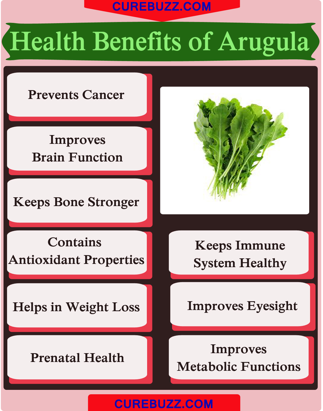9 Health Benefits Of Arugula Getatoz