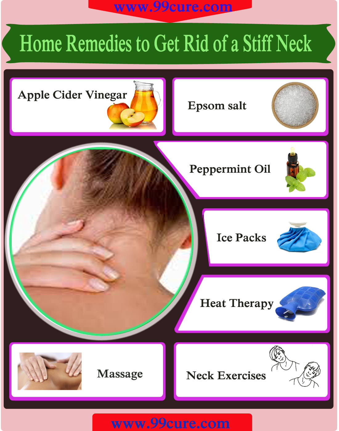 Home Remedies to Get Rid of a Stiff Neck