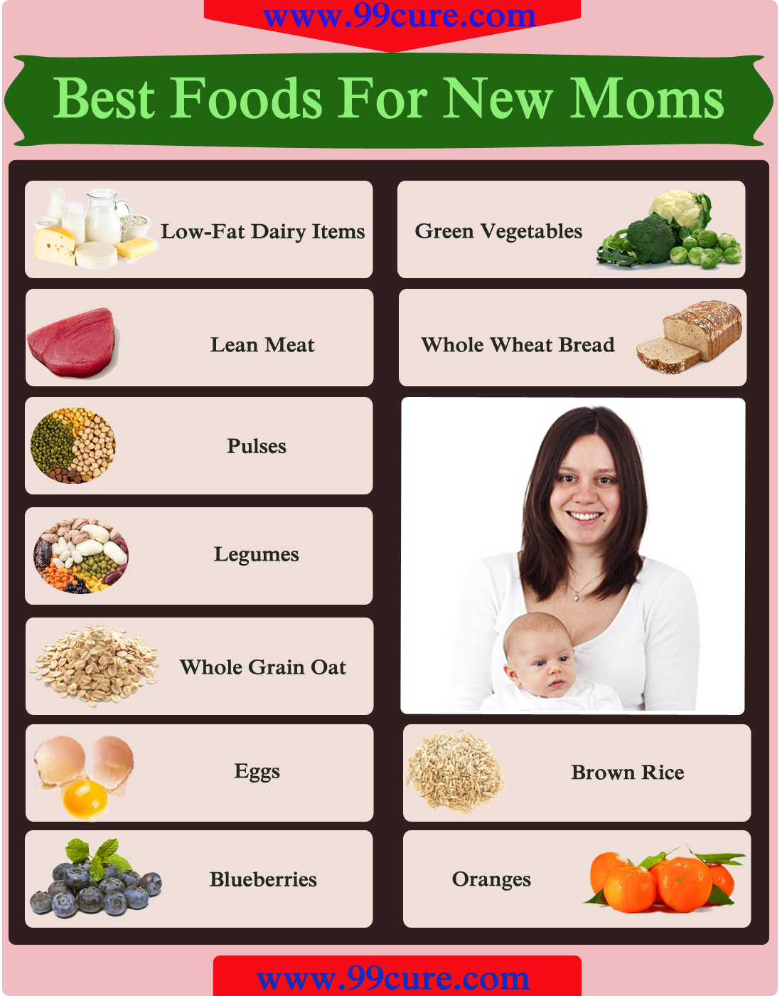 Best Foods For New Moms