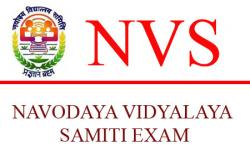 NVS or Navodaya Vidyalaya Samiti Exam