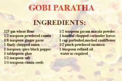 Gobhi Paratha