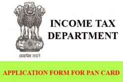 Application Form for PAN Card