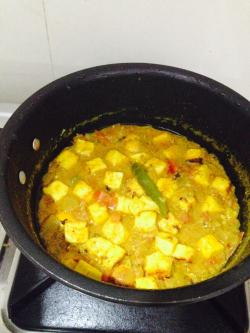 Paneer Cashew Curry