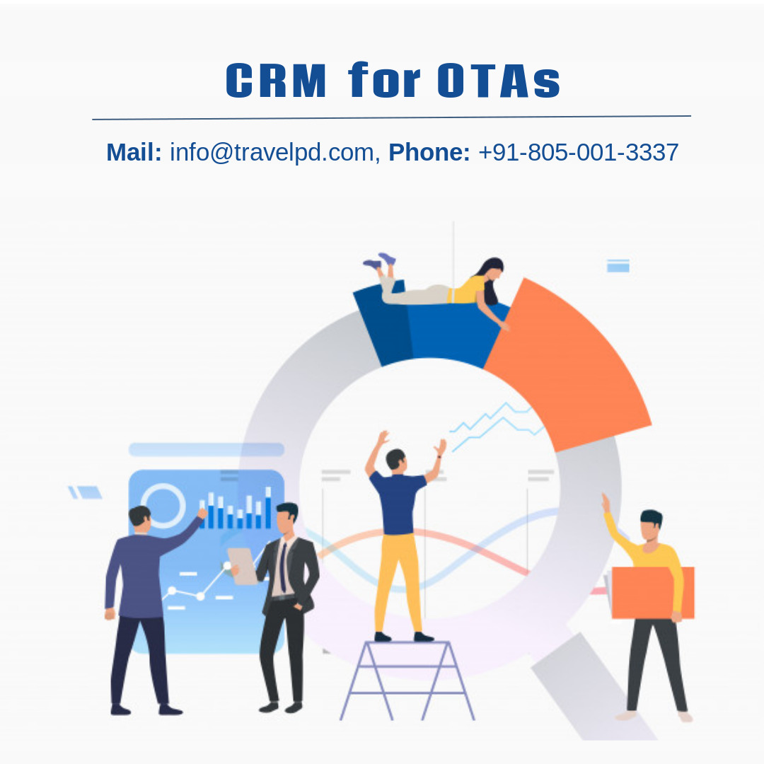 Custom CRM development for travel businesses!