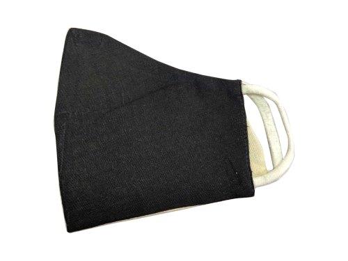 Reusable Black Cotton Face Mask