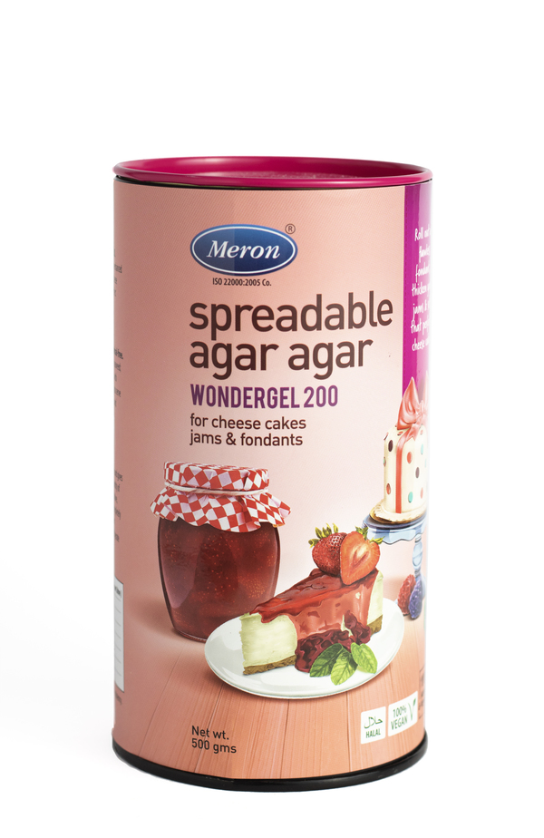 Meron Spreadable Agar Agar - Wonder Gel 200 (500 Grams)