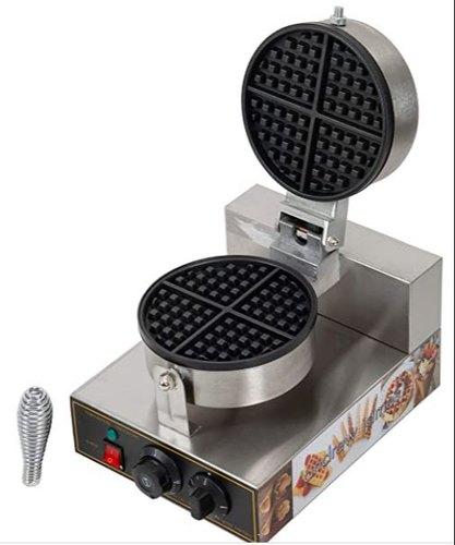 Single Stainless Steel Belgian Waffle Maker