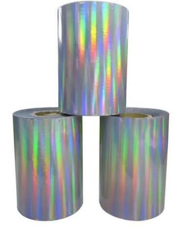 Rainbow Heat Transfer Foil Roll