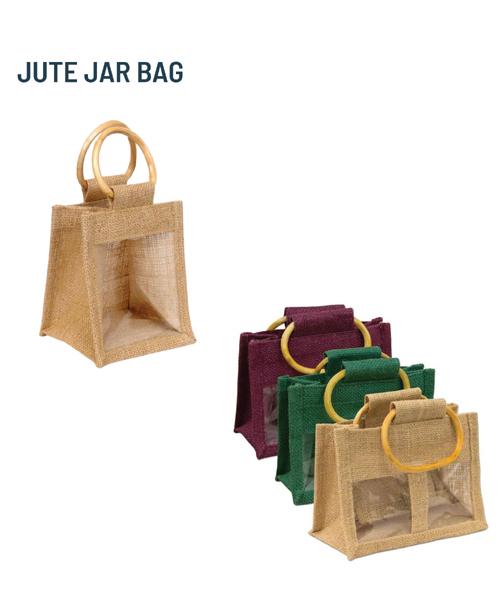 JUTE JAR BAG