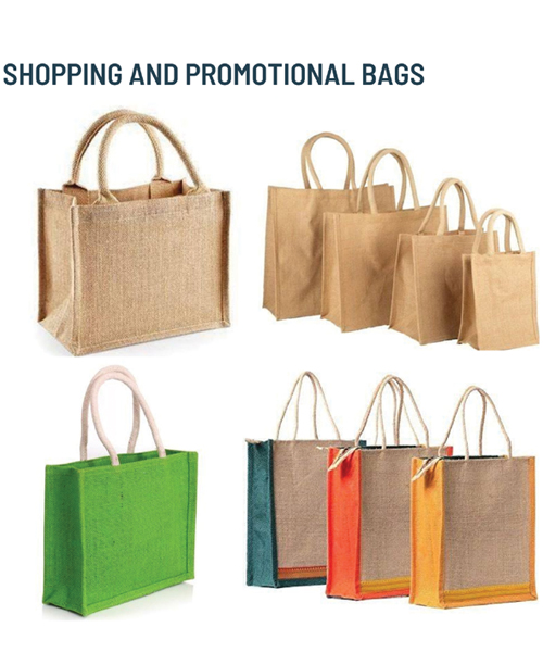 SHOPPING AND PROMOTIONAL BAGS