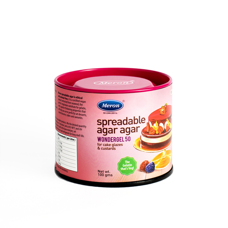 Meron Spreadable Agar Agar - Wonder Gel 50 (100 Grams)