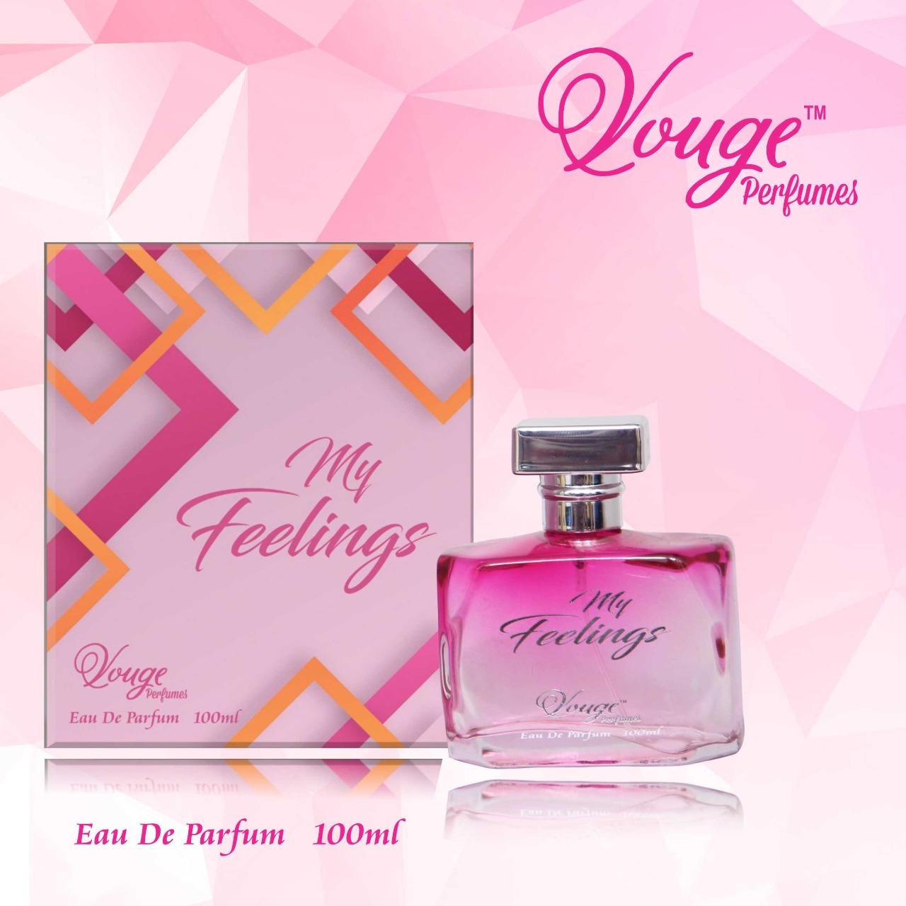 Vouge Perfume - My Feelings